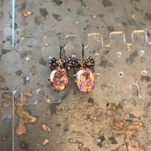 Juicy Couture Pink Jewel & Bow Earrings